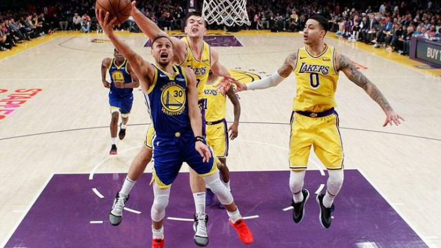 Los Angeles Lakers 111 - 130 Golden State Warriors