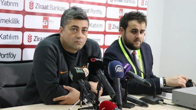 Galatasaray Yardımcı Antrenörü Levent Şahin'den forvet açıklaması