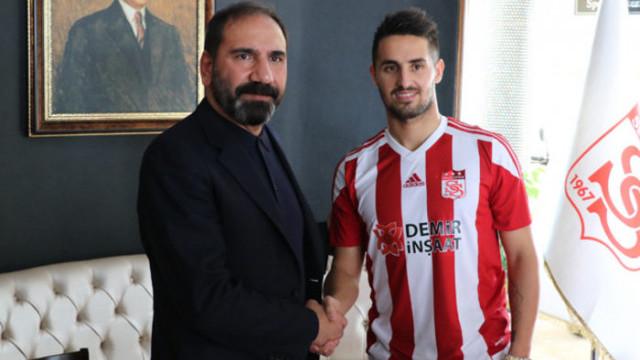Hugo Vieira Sivasspor ile sözleşme imzaladı