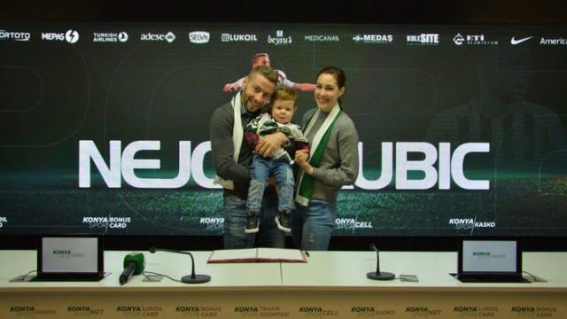 Konyaspor, Nejc Skubic ile sözleşme yeniledi