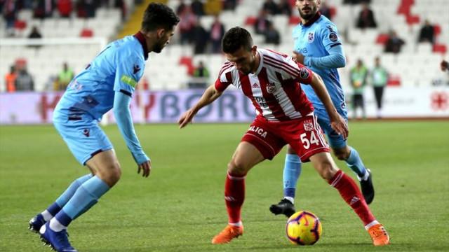 Demir Grup Sivasspor 1 - 1 Trabzonspor (Spor Toto Süper Lig puan durumu)