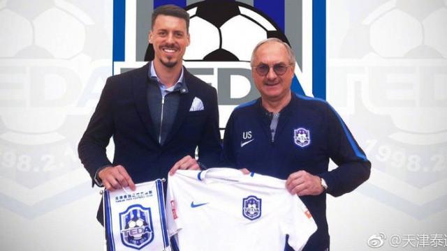Sandro Wagner Tianjin Teda'ya transfer oldu