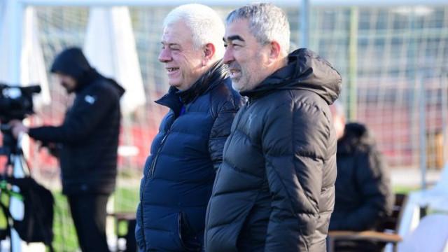Bursaspor'da Ali Ay - Samet Aybaba zirvesi
