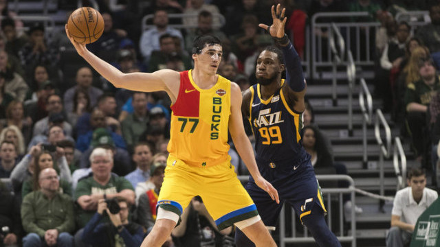 Milwaukee Bucks, Utah Jazz'ı 114-102 yendi