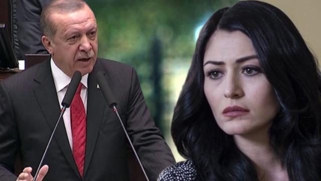 Erdoğan'dan Deniz Çakır'a çok sert tepki