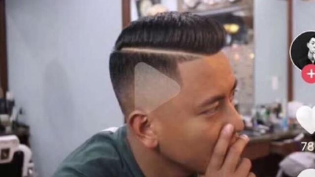 Video üzerinden saç tarifi verince berber saçına ''play tuşu'' kazıdı