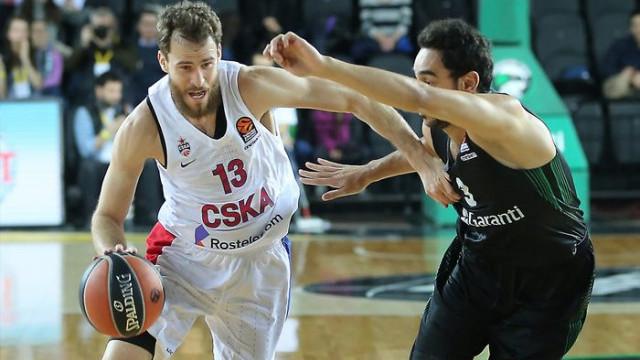 Darüşşafaka Tekfen 65 - 80 CSKA Moskova