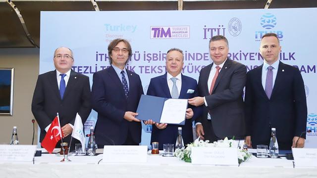 İTÜ - İTHİB işbirliği ile Türkiye'de bir ilk