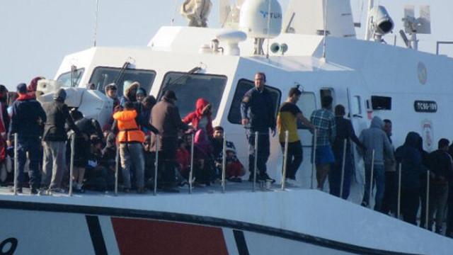 Çanakkale'de 314 kaçak göçmen yakalandı