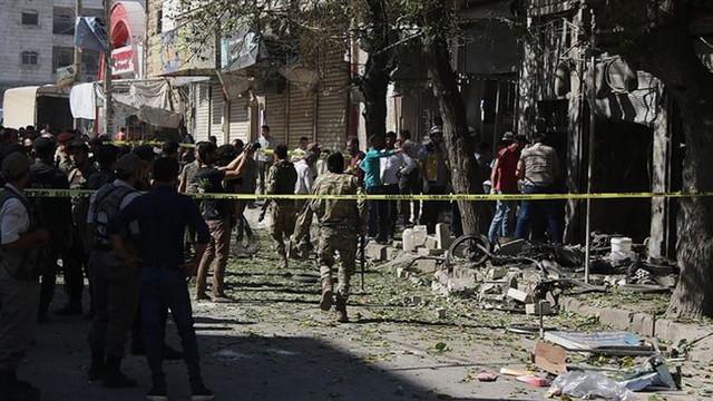 PKK Bab ilçesine bombalı saldırı düzenledi