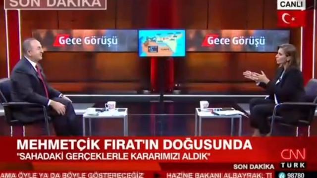 Çavuşoğlu: ''YPG DEAŞ'lıları elinde silah olarak tutuyor''