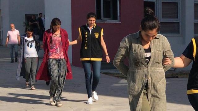 Polisten şafak baskını: 1'i hamile 3 kadın gözaltında!