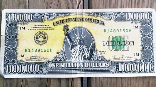 Türkiye'de bulunan 1 milyon dolarlık banknot gerçek çıktı