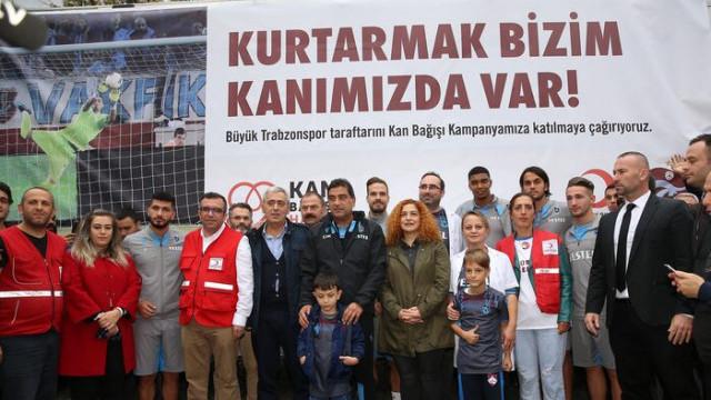 Trabzonspor'dan kan bağışı kampanyasına destek
