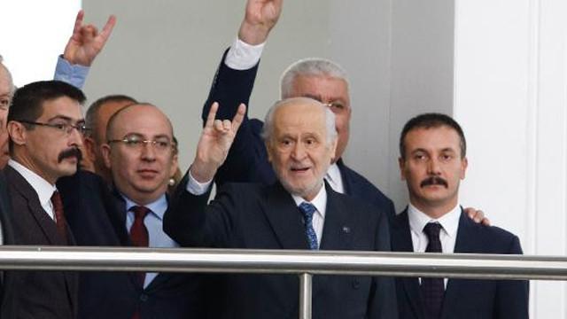 MHP lideri Bahçeli'den günler sonra ilk görüntü