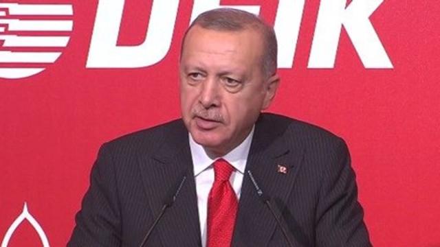Erdoğan: ''Başladığımız işi bitireceğiz''