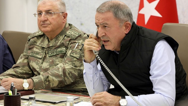 Bakan Hulusi Akar Rus mevkidaşı Şoygu ile görüştü