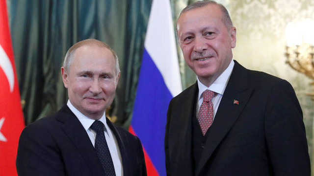 Putin'den Cumhurbaşkanı Erdoğan'a davet