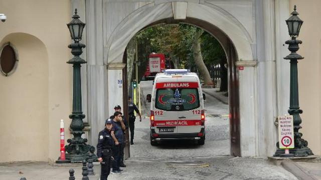 İstanbul Valiliği'nde yangın paniği