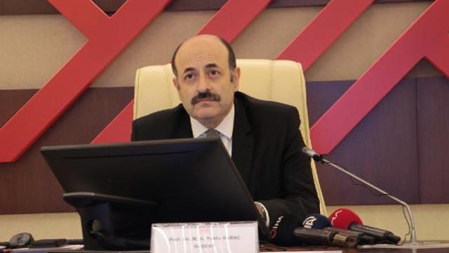 YÖK Başkanı'ndan ''özel yenetenek sınavı'' açıklaması