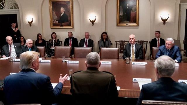 Beyaz Saray'daki Suriye toplantısı karıştı !