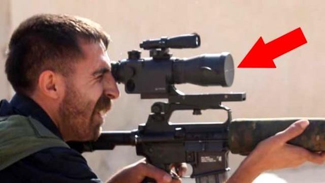 YPG'li keskin nişancı alay konusu oldu