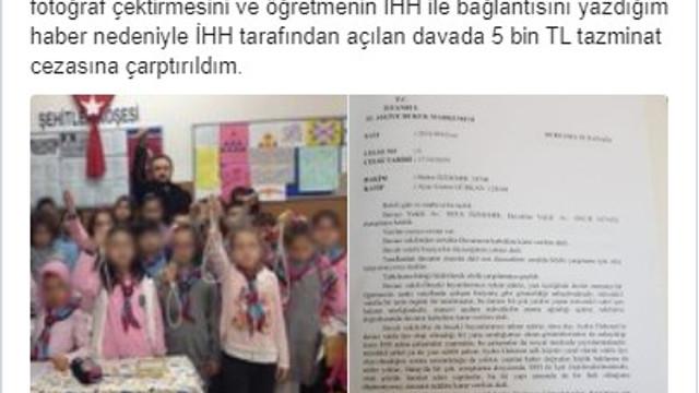Çocuklara idam ipi verilmesini yapan editöre para cezası
