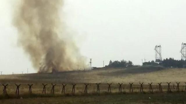 Mardin'de karakola havan toplu saldırı: 1 asker yaralı
