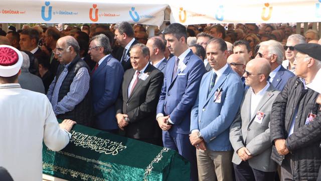 Başkan Gökhan Yüksel eski bakanların cenaze törenine katıldı