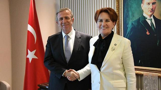 Meral Akşener'den Başkan Yavaş'a ziyaret