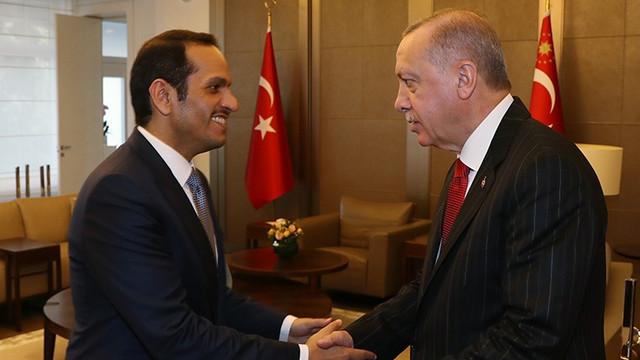 Erdoğan: Katar Başbakan Yardımcısı Sani'yi kabul etti