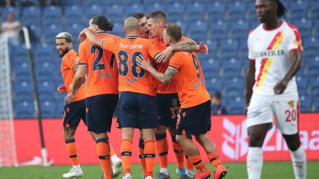 Başakşehir 2 - 1 Göztepe
