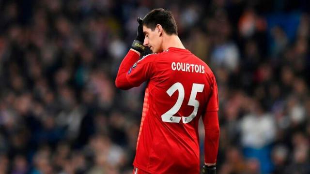Real Madrid'de Courtois ikinci yarıya çıkmadı