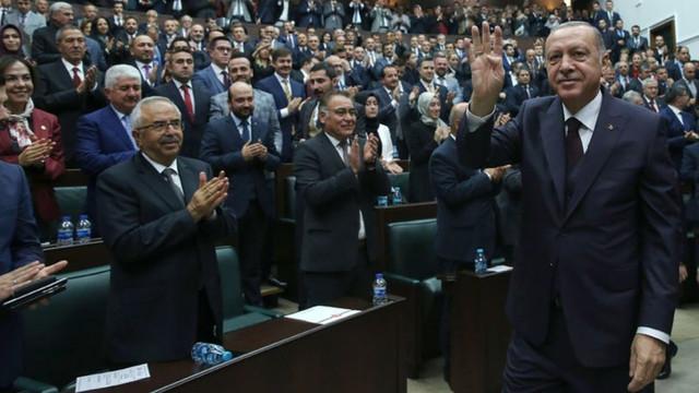 AK Parti iç siyasette Erdoğan'a destek arttı görüşünde