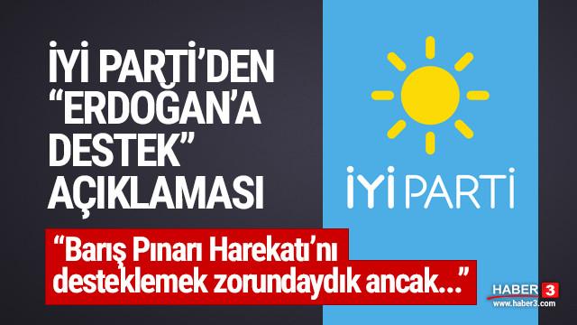 İYİ Partili Çıray: Erdoğan'a her konuda destek vermeyeceğiz