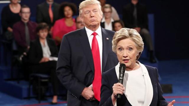 Clinton, Trump'ın mektubuyla dalga geçti