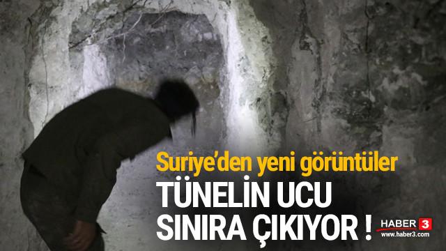 YPG/PKK'nın tünel sistemi ortaya çıkarıldı