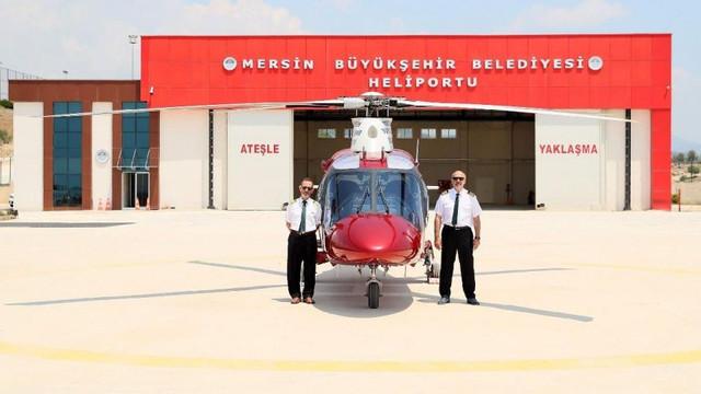 CHP'li belediyeden satılık helikopter