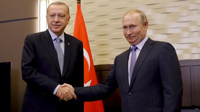Gözler Soçi'de ! Putin-Erdoğan görüşmesi başladı