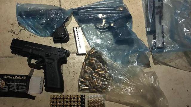 10 ilde ''hayalet silah'' operasyonu: 4'ü polis 75 gözaltı