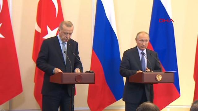 Cumhurbaşkanı Erdoğan: Rusya ile ortak devriyeler olacak