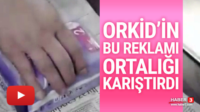 Orkid'in bu video filmi sosyal medyada tartışma yarattı