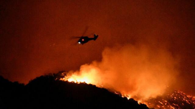 Kaliforniya'daki yangın LeBron James'i de evinden etti