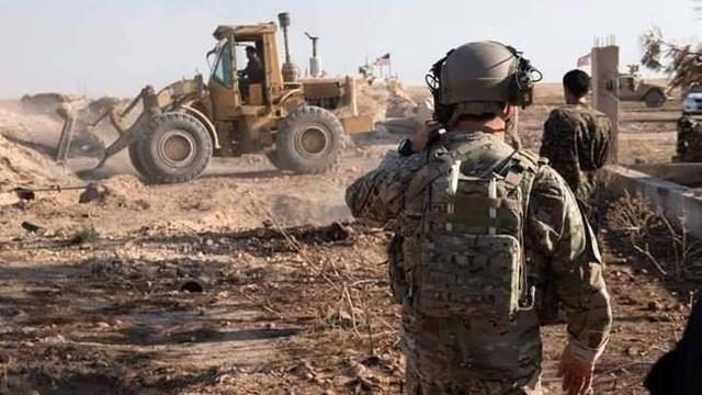 ABD askeri Suriye sınırında devriyede