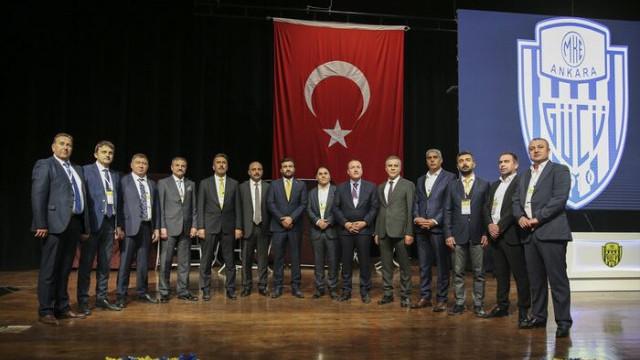 Ankaragücü'nün yeni başkanı Fatih Mert oldu