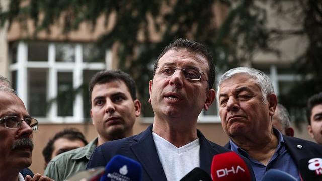 İmamoğlu'ndan canlı yayında ''bu hatadan dönün'' açıklaması