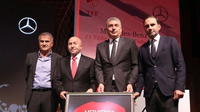 TFF, Mercedes-Benz Türk ile iş birliğini uzattı