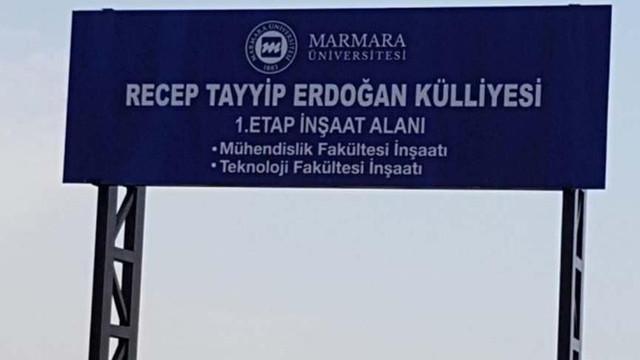 Marmara Üniversitesi RTE Külliyesi'nin ihalesi iptal