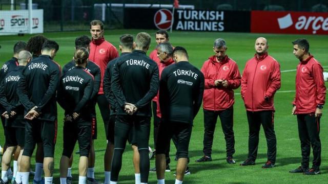 A Milli Futbol Takımı, Arnavutluk ve Fransa maçlarının hazırlıklarına başladı