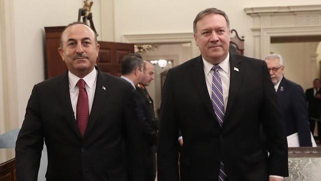 Barış Pınarı Harekatı sonrası ABD ile ilk görüşme !